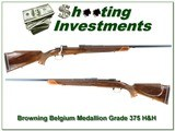 Browning Belgium Medallion Grade 375 H&H as new - 1 of 4