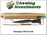 Remington 700 Mountain Stainless Bell & Carson 7mm-08 NIB - 1 of 4