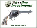 Great Western Arms .22 SAA - 1 of 4