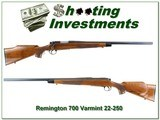 Remington 700 Varmint Special in 22-250