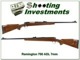 Remington 700 ADL 7mm Rem Mag Exc Cond! - 1 of 4
