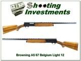 Browning A5 Light 12 67 Belgium bold VR