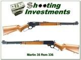 Marlin 336 35 Remington JM 1980 Exc Collector Cond!