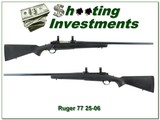 Ruger M77 Tang Safety 25-06 Exc Cond!