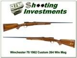 Winchester 70 Pre-64 1962 custom 264 Win Mag 26in