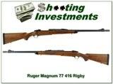 Ruger Magnum 77 416 Rigby Dangerous Game gun!