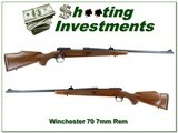Winchester Model 70 New Haven 7mm Rem Exc Cond!