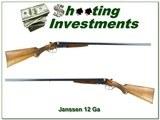 Janssen Fils & Co Belgium SxS 12 Gauge 30in Exc Cond