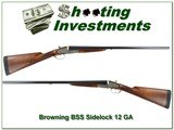 Browning BSS Sidelock 12 Ga as new!