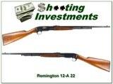 Remington 12-A 12A 22 all original Exc Cond!