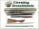 Browning Superposed Superlight Belgium 20 Ga Exc Cond!