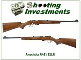 Anschutz Model 1451 West German made 22 Exc Cond - 1 of 4