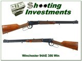 Winchester 94AE hard to find 356 Winchester Exc Cond!