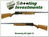 Browning A5 Light 12 70 Belgium Blond 26in VR IC - 1 of 4