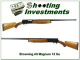 Browning A5 Magnum 12 70 Belgium collector! - 1 of 4