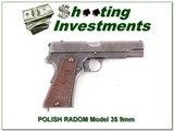 """POLISH RADOM Model 35 9 mm 4.5"""" barrel"""