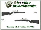 Browning A-Bolt II Stainless Stalker in 325 WSM - 1 of 4