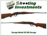 Savage Model 99 in 300 Savage