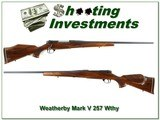 Weatherby Mark V 257 Weatherby Mag Exc Cond! - 1 of 4