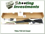 Tikka T3x in 6.5 Creedmoor as new in box
