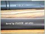Remington 700 Custom target 22-250 28in heavy Shilen barrel with break - 4 of 4