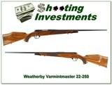 Weatherby Mark V Varmintmaster German 22-250 - 1 of 4