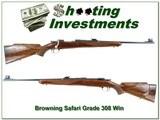 Browning 1962 Belgium made Safari Grade 308 MINT!
