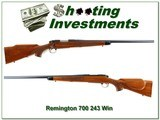 Remington 700 Varmint Special first edition 243 Heavy Barrel