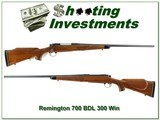 Remington 700 BDL early Stainless 300 Win Mag!