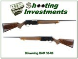 Browning BAR Safari 30-06 XXX Wood!