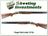 Ruger Red Label Silver receiver 28in choke tubes Exc Cond!