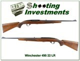 Winchester 490 22LR Exc collector condition!