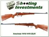 Anschutz Model 1415-1416 22 LR