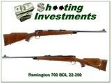 Remington 700 BDL 22-250 Ex Cond early gun
