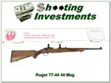 Ruger 77/44 44 Magnum made in 1998 in box!