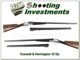 "Cogswell & Harrison 12 gauge ""Avant Tout"" 2 barrel set"