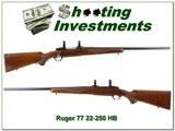 Ruger 77 Red Pad Varmint 22-250