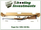 Ruger No.1 Sporter 338 Win Mag NRA Commemorative in box