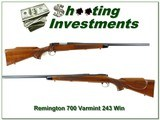 Remington 700 Varmint Special First Edition 243 Win