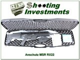 Anshutz MSR RX22 .22LR Semi auto Rifle new unfired