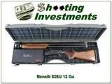 Benelli 828 828U Field Walnut Black 12 Ga 3in 28in