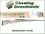 Weatherby LH Mark V Ultra-Light 6.5-300 factory new!