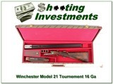Winchester Model 21 RARE Tournament 16 Ga