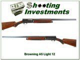 Browning 1959 Belgium made Light 12 28in Modified