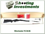 Winchester 70 30-06 New Haven made synthetic in box!