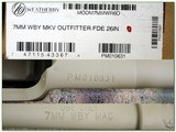 Weatherby Mark V Ultra Lightweight Outfitters FDE 7mm Wthy - 4 of 4