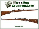 Custom Rifle Ranch Mauser Manlicher in 338 Win Mag - 1 of 4
