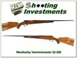 Weatherby Mark V Varmintmaster German 22-250
