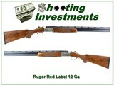 Ruger Red Label 12 Ga 26in with factory tubes Exc Cond