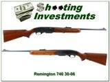 remington 740 30 06 1959 made collector condition!